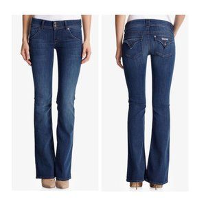 Hudson   Signature Back Flap Pocket Bootcut Jean